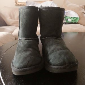 Gently worn black Ugg boots